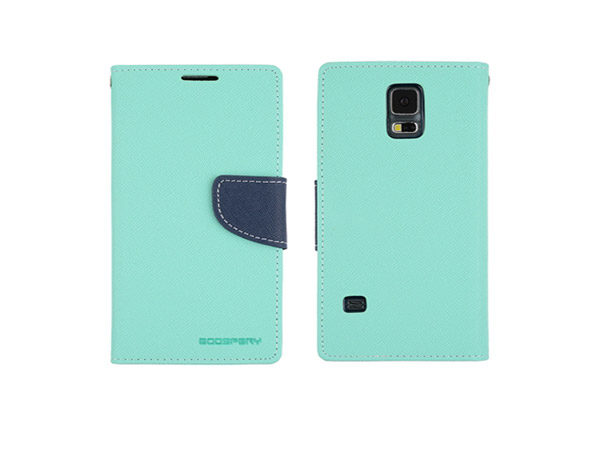 Θήκη Book Goospery για Galaxy S5 Mini MintNavy