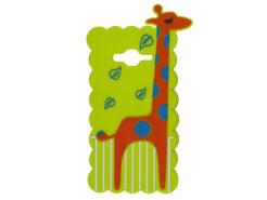 Silicone-Case-3D-GIRAFFE-Green