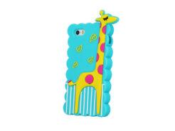 silicone-3d-Giraffe-blue