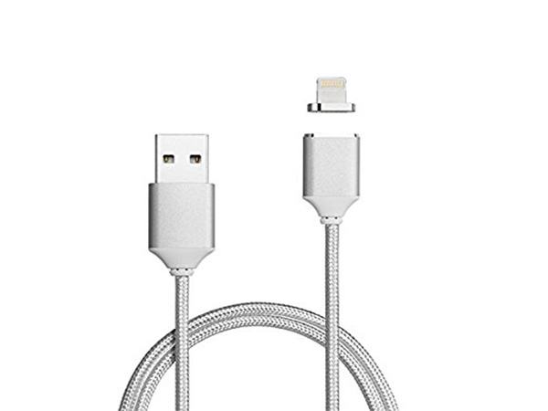 Magnetic-Usb-Cable-For-Iphone-Silver
