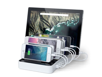Satechi--7-Port-Usb-Charging-Station-Dock-With-2-Type-C-Ports-White