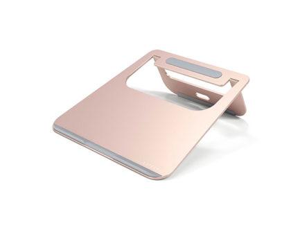 Satechi-Aluminium-Laptop-Stand-Rose-Gold