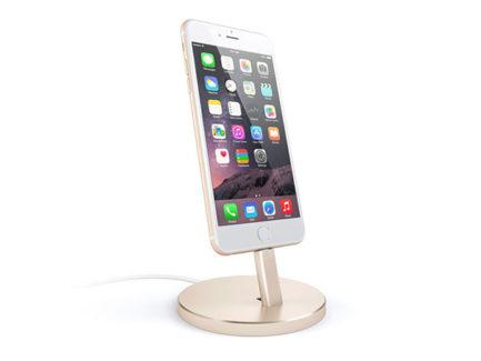 Satechi-Aluminum-Mobile-Lightning--Dock-Gold