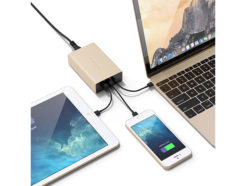 Satechi-Usb-C-40W-Travel-Charger-Gold