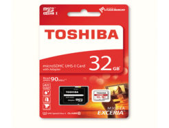 Toshiba-Micro-SD-32GB-Exceria-4k-90MBps-With-Adapter