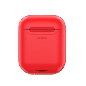 baseus wireless charger for airpod red