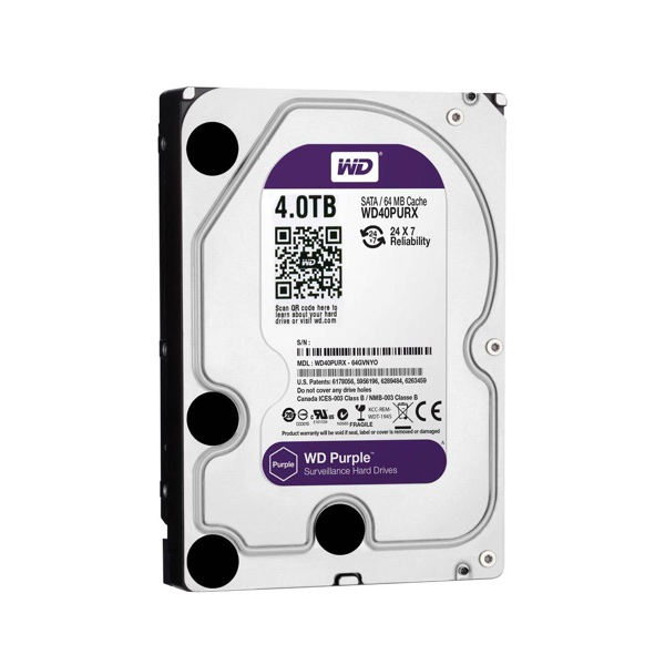 Western Digital Purple HDD 4TB